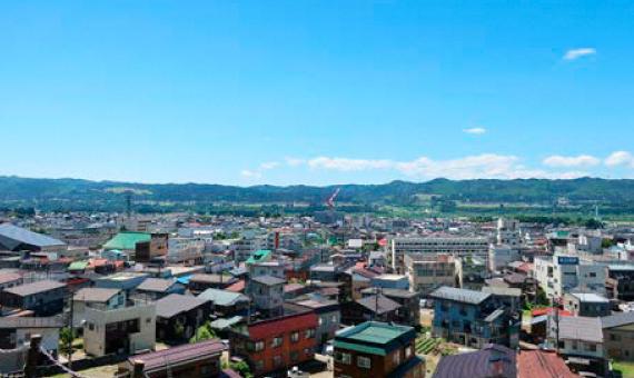 十日町の風景